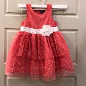 Girls fluff dress